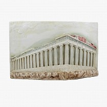 Acropolis - Wall hanging relief ceramic statue 43x27 cm