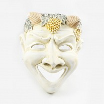 Comedy Ceramic Theatrical Mask 21x24.5